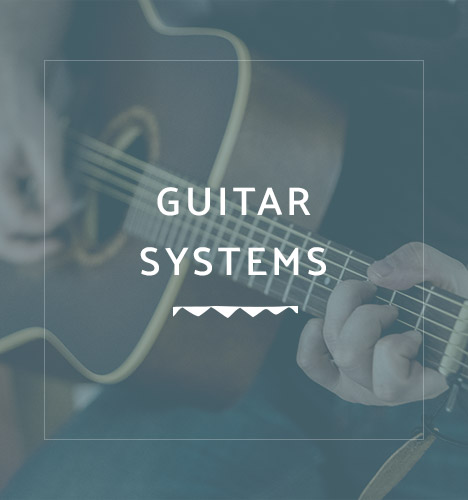hands playing acoustic guitar with overlayed text reading