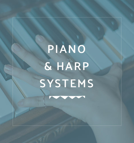 hand playing piano with overlayed text reading